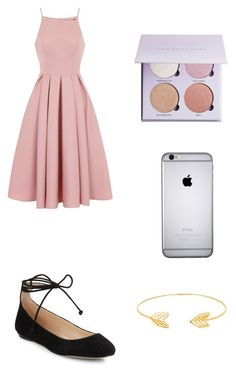 Untitled #67 by haleighmarie2004 on Polyvore featuring polyvore, fashion, style, Chi Chi, Karl Lagerfeld, Lord & Taylor and clothing