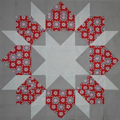 Swoon Block #1 by Punkin Handmades, via Flickr