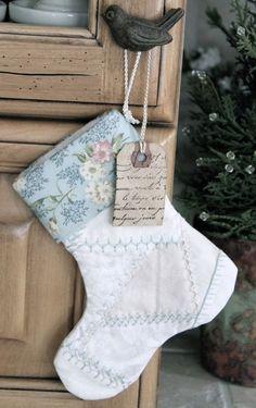 Having the holiday blues Magical Christmas, Blue Christmas, Beautiful Christmas, Winter Christmas, Christmas Ideas, Merry Christmas, Quilted Christmas Stockings, Xmas Stockings, Holiday Crafts