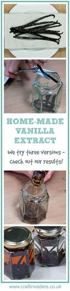 We test making vanilla extract using 3 different alcohol bases - find out which we think is the best spirit for making vanilla extract!