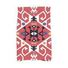 E by Design 16 x 25-inch Jodhpur Medallion Print Kitchen Towel