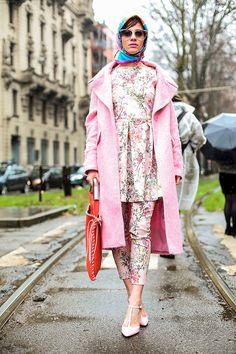 Street style Milan Fashion Week otono invierno 2014