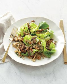 Mushroom Barley Salad