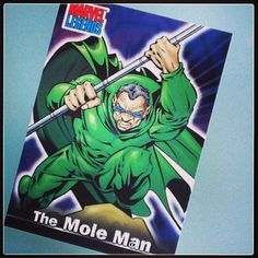Mole Man Mole Man, Classic Comics, Fantastic Four, Marvel Comics, Joker, Comic Books, Fictional Characters, Art, Art Background