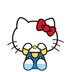 LINE Official Stickers - Hello Kitty Pouncing Pop-Up Stickers Example with GIF Animation Hello Kitty My Melody, Hello Kitty Items, Sanrio, Hello Kitty Pictures, Good Morning Gif, Cat Mask, Hello Kitty Wallpaper, Line Sticker, Mickey Minnie Mouse