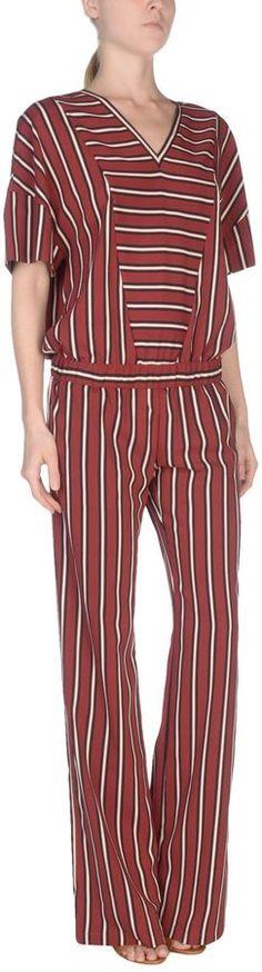 cc15e838e07 Derek Heart Striped Tie Waist Jumpsuit (Plus Size)