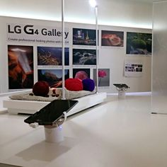 A strong feature of the new LG G4 is its powerful camera. At the UK launch visitors could try out the slick smartphone and camera