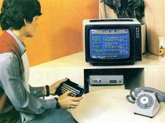 Minitel the success of France Telecom Orange in the 80s Phone Telephone