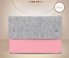 "Cubierta de la caja del ordenador portátil de la manera para Macbook Pro / Air Notebook bolsa de la manga 11 ""13"" Ultrabook Bolsa Bolsa Portátil Bolsa"