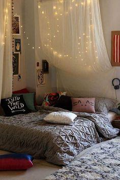 Chambre éléments Idées Canopy Lumière Boho                                                                                                                                                                                 Plus
