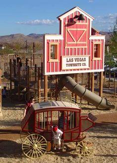 Exploration Park (playgrounds, water features, digging, climbing, running, picnic)