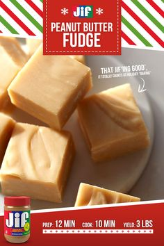 Peanut Butter Fudge Recipe With Marshmallows, Best Peanut Butter Fudge, Recipes With Marshmallows, Peanut Butter Fudge Recipe With Marshmallow Cream, Peanut Butter Recipes, Fudge Recipes, Candy Recipes, Dessert Recipes, Holiday Baking