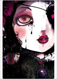 Image result for gothic watercolour paintings