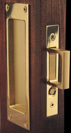 pocket door lock - Google Search