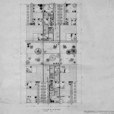 Hidden Architecture attempts to recover any kind of building, project, thought or theory including an important and worthy value from our point of view. Architecture Courtyard, Architecture Plan, Courtyard House, Instagram, Floor Plans, How To Plan, Agadir Morocco, Houses, Architectural Drawings