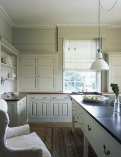 love the cabinets and counters