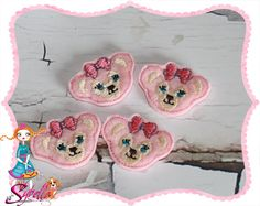 Shellie May hair clips