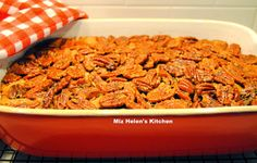 Miz Helen's Country Cottage: Pecan Cobbler