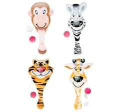 Zoo Animal Paddle Ball Games 12 Pack * Read more  at the image link. Note:It is Affiliate Link to Amazon.