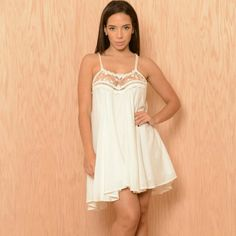 Final PriceBoho Chic Ivory Lace Detail Dress ❎NOT FOREVER 21 JUST DID IT FOR RECOGNITION. REAL BRAND IS FASHION NOVA ❎  Known as the Hamptons Dress, worn once for my graduation   Comes from smoke/pet free home  Same day or Next day shipping   Trading❌Holding❌Bundles✔  Feel free to ask questions or make offers✔ Forever 21 Dresses Asymmetrical