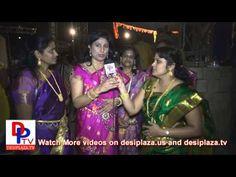 Indu Reddy speaking to Desiplaza TV at DFW Bathukamma Sambaralu