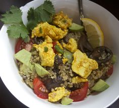 Quinoa-Tofu Breakfast Bowl