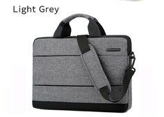 """15.6"""" Light Grey bag Case, Messenger Handbag, Case MacBook .Best Gift Laptop Messenger Bags, Laptop Bag, Notebook Case, Laptop Shoulder Bag, Macbook Case, Leather Backpack, Gym Bag, Best Gifts, Backpacks"""