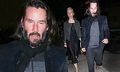 Keanu Reeves enjoys Friday night out with Alexandra Grant Keanu Reeves Alexandra Grant, Keanu Charles Reeves, Keanu Reeves News, Ode To Happiness, New Matrix, Eric Garcetti, Arch Motorcycle Company, Walk Free, Los Angeles Police Department