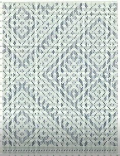 Blackwork Embroidery, Embroidery Stitches, Embroidery Patterns, Hand Embroidery, Crochet Patterns, Thread Art, Cross Stitch Borders, Japanese Embroidery, Crochet Chart