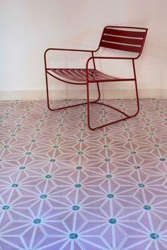 popham design :: cement tiles :: handmade in morocco Exploded Starburst