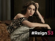 Long live the queen! #Reign has been #RENEWED for season 3!