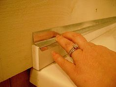 Galvanized corrugated metal shower surround--use z channel over PVC faux wood piece to protect against water damage. Galvanized corrugated metal shower surround--use z channel over PVC faux wood piece to protect against water damage. Cabin Bathrooms, Primitive Bathrooms, Basement Bathroom, Small Bathroom, Remodel Bathroom, Boy Bathroom, Basement Kitchen, Bathroom Vanities, Bathroom Renovations