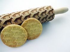 Engraved Cookie Roller US Welsh corgi 2  Small Embossing Rolling Pin with Dog