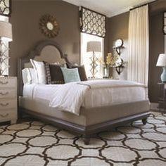 Make your bedroom into your own personal getaway. #BedroomIdeas #CarpetIdeas