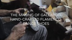 When I was in Madrid at the end of last year I was extremely lucky to be  able to have some custom flamenco dance shoes made for me from the renowned  company Gallardo Dance.  Gallardo have four artisan shoemakers who work in the store (and the  workshop just down the road) who craft each shoe by hand.  Tomás, one of the shoemakers, came out to measure my feet. He discussed  with me (with the help of José) all of the concerns I had for my left foot  which has been injured a few times and is…