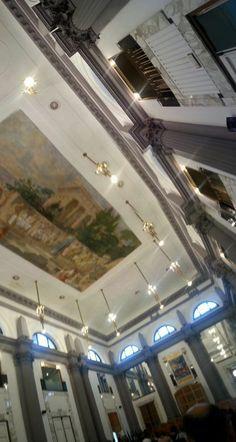 Colazione di lavoro all'Università Federico II di Napoli.