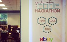 eBay and Girls Who Code Prepare the Next Generation of Entrepreneurs | eBay Inc @ebayincup #tech #siliconvalley #ebay #gwc #code