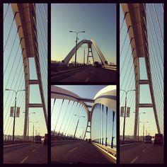 Apollo bridge, Bratislava; by Peter Sedlacik