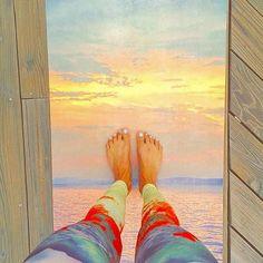 Sunset Mat