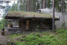 The smoke sauna - Finland