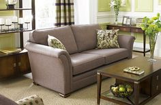 coral yellow green with gray couch   111 Bright And Colorful Living Room Design Ideas   DigsDigs