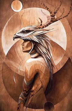 Equanimity - Artwork by Hans Walor - Walør - VALØR One of our favorite artists, this piece blesses up our Pinecone workshop Oil Painting App, Native American Artwork, Spirited Art, Native Art, Indian Art, Native Indian, Cool Artwork, Art Pictures, Fantasy Art