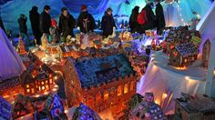 Largest Gingerbread City in the world! Bergen, Norway
