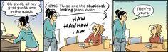 Pajama Diaries Comic Strip for March 09, 2015 | Comics Kingdom