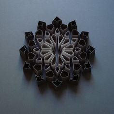 Michigan-based artist Matthew Shlian describes himself as a paper engineer.