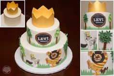 Where the Wild Things Are cake.  Love this story!
