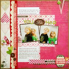 *You and Her* NEW BasicGrey KISSING BOOTH - Scrapbook.com