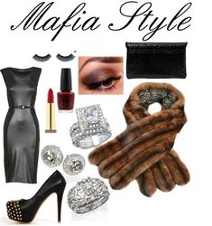A fashion look from January 2013 featuring midi bodycon dress, studs shoes and evening clutches. Browse and shop related looks. Mafia Party, Italian Themed Parties, Italian Party, Theme Parties, Gangster Party, Mafia Gangster, Speakeasy Party, Gatsby Party, Pink Dress Outfits