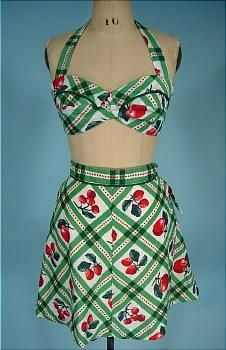 Play suit --- this is absolutely delish!  http://www.antiquedress.com/gallerygifts.htm