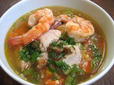 This week's soup recipe comes from a military man who prefers to keep his real identity undercover. He did, however, decide to declassify his Chicken and Shrimp Soup recipe for the Primal Blueprint Cookbook Challenge, and we're glad he did. The soup follows one of our favorite soup-making methods, which is throwing a bunch of [...]